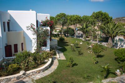 Το συγκρότημα ASTERAS PARADISE Hotel βρίσκεται 6 χλμ από το κέντρο της Νάουσας και 16 χλμ από το λιμάνι της Παροικίας. Είναι μέλος της Exclusive Plan Hotels Selection. Μέσα στο 2014 δημιουργήθηκαν νέα τμήματα και υπηρεσίες τα οποία είναι τώρα έτοιμα να καλωσορίσουν όλους τους φιλοξενούμενούς του με την νέα του πολυπρόσωπη φιλοσοφία. Η παραδοσιακή κυκλαδίτικη αρχιτεκτονική, η μαγευτική θέα και το εξαιρετικό σέρβις δημιουργούν ένα αρμονικό περιβάλλον για την διαμονή σας!..